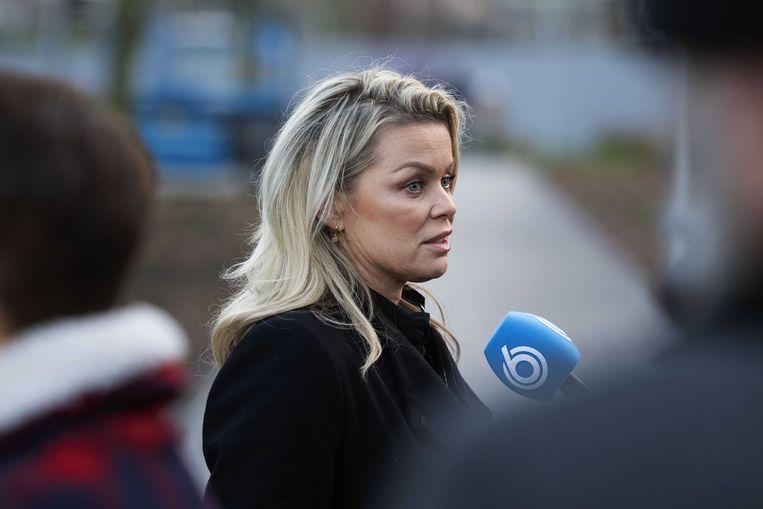 Bridget, eerder bij de rechtbank. Beeld ANP