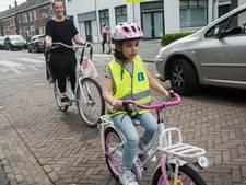 Idee Goirle: L-hesje voor veiligheid van beginnende jonge fietser