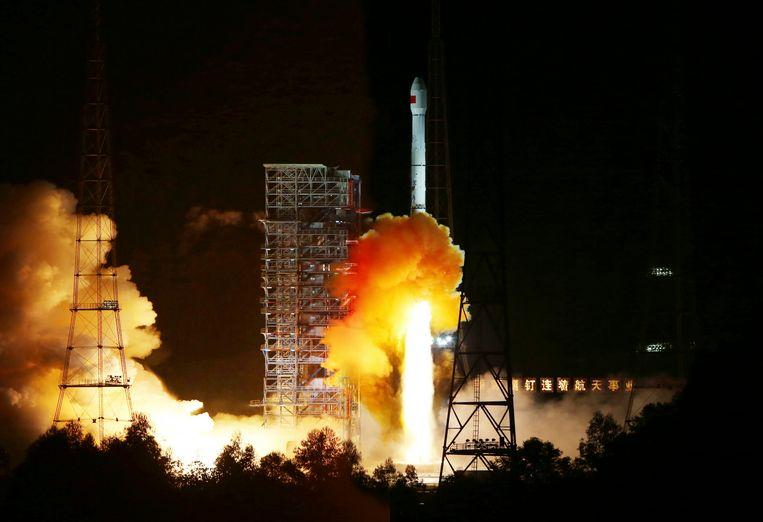 Een archieffoto van de ruimtehaven Xichang