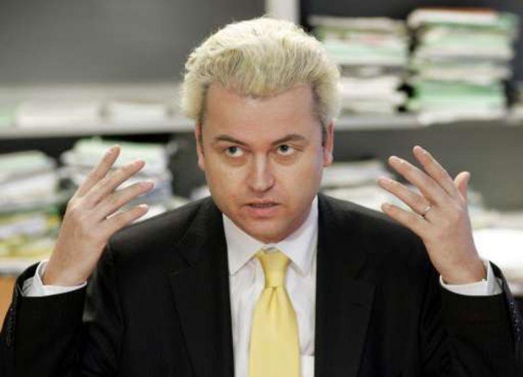 De omstreden Geert Wilders.