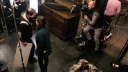 Merodestraat decor voor opnames Franse tv-film
