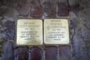 Stolpersteine in de binnenstad van Oldenzaal.