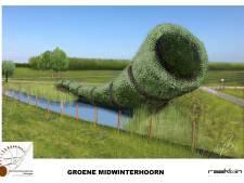 Eerste bomen midwinterhoornplantage in Eibergen binnenkort de grond in: 'Een heel groot kunstwerk'