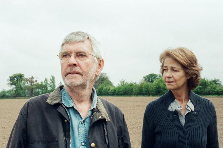 Tom Courtenay en Charlotte Rampling in 45 years. Beeld