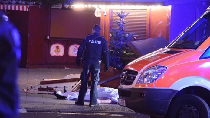 Bij de aanslag in Berlijn kwamen twaalf mensen om.