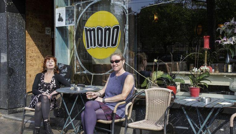 Café Mono op de Bilderdijkstraat Beeld Mats van Soolingen