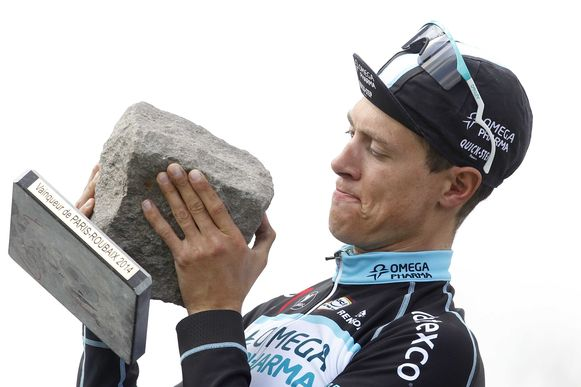 Niki Terpstra won in 2014 Parijs-Roubaix.