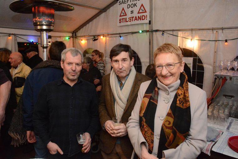 Jan Creve, Matthias Storme en Nelly Maes.