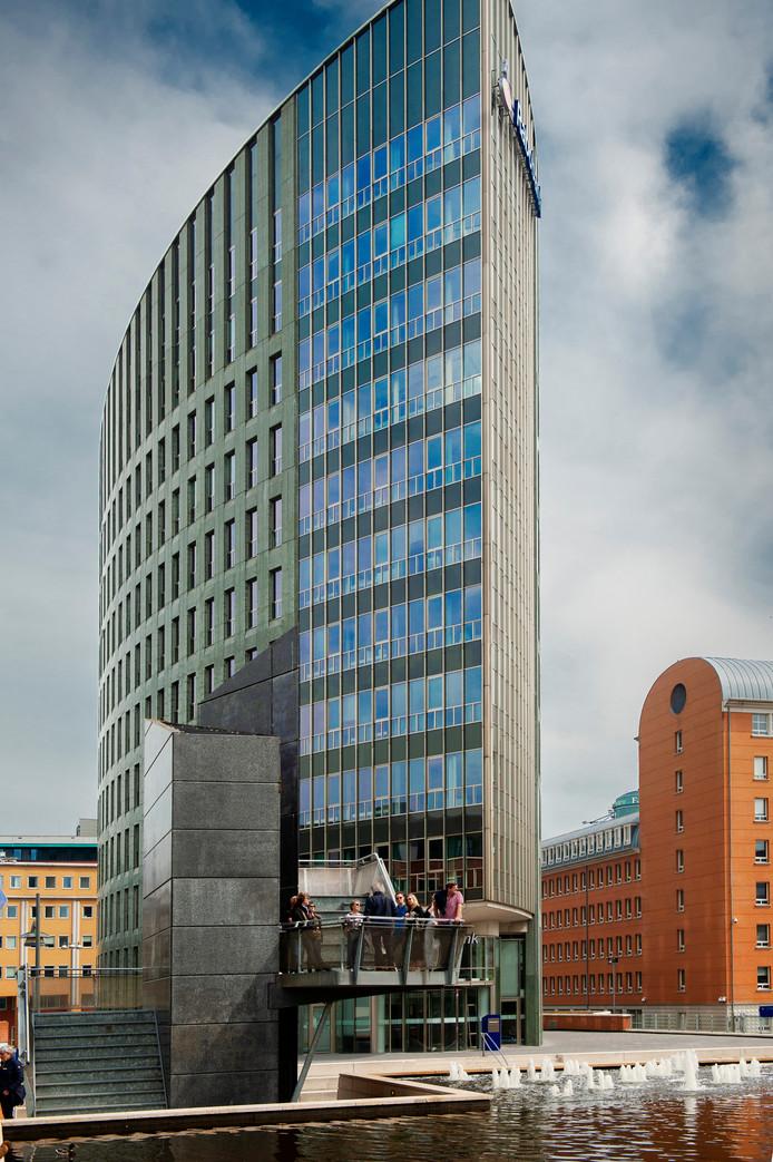 Het Riva-gebouw in het Paleiskwartier