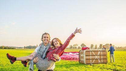 """Het eerste dubbelinterview van Ian Thomas en zijn vriendin Anna: """"We zagen dit allebei als een zomerflirt, maar zie ons nu"""""""
