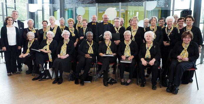 De Tilburgse Zangvereniging Cantabile heeft ook een sociale functie.