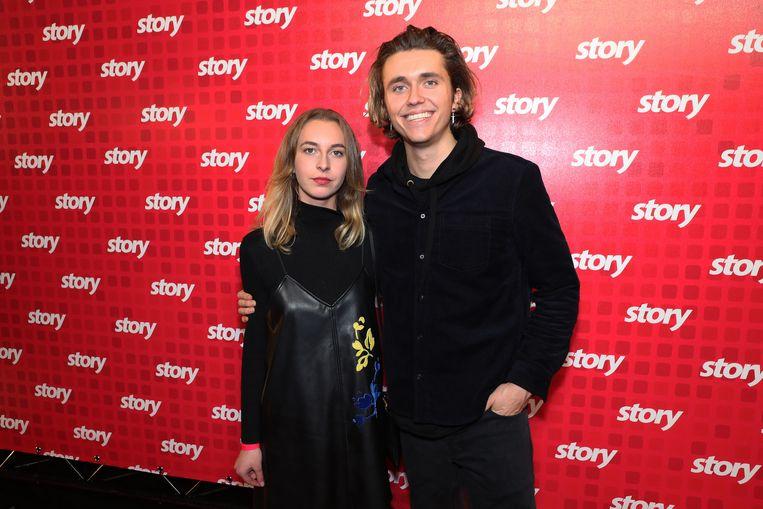 Ian Thomas met zijn vriendin Anna