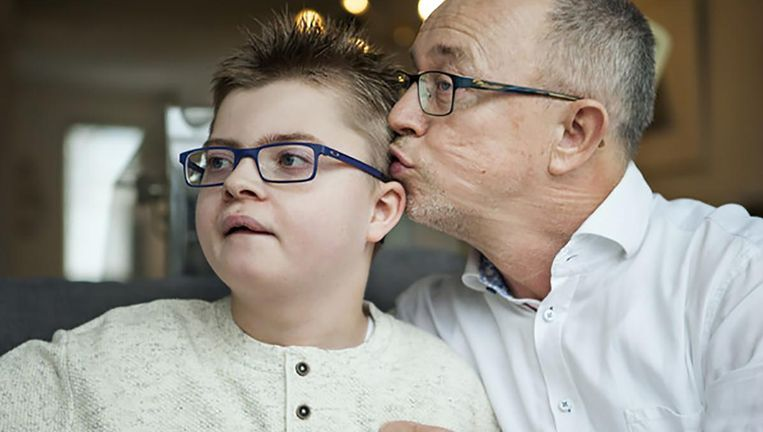 Willem Vissers en zijn zoon Samuel Beeld null