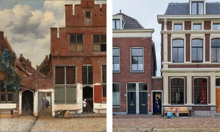 Waar Ligt Huizen : Ligt het straatje van vermeer nu in delft of toch niet? trouw