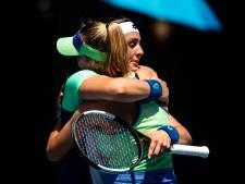 Amerikaanse Sofia Kenin voor het eerst in de halve finale van een Grand Slam