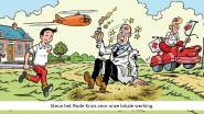 Opbrengst stickerverkoop Rode Kruis in Herenthout met 70 procent gedaald