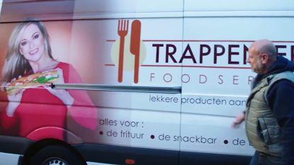"""""""Ik zie mijn vrouw zo graag dat ik ze heb laten vereeuwigen op onze camionette"""": Jan Trappeniers maakt zijn vrouw het uithangbord van hun bedrijf"""