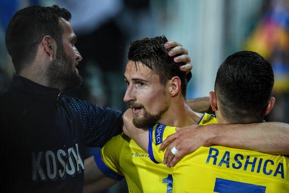 Elbasan Rashani deed Kosovo vieren.