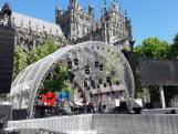 Straatbeeld: Den Bosch bijna klaar voor Nederland staat op tegen kanker