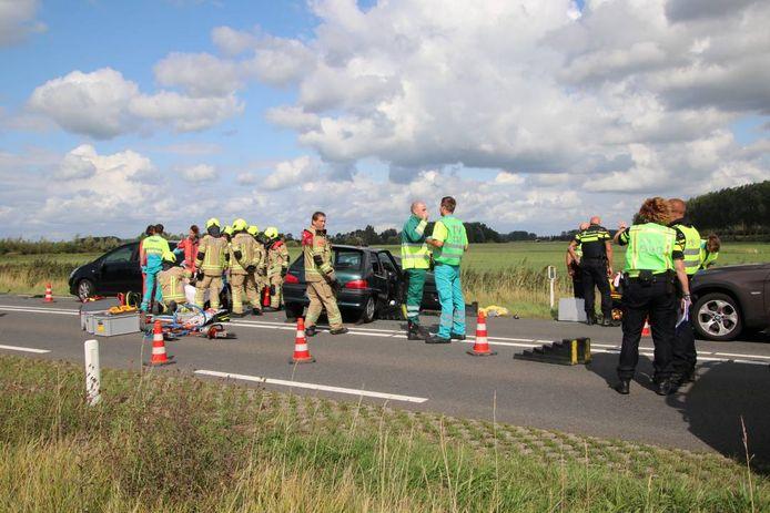 Het ongeval aan de Deltaweg bij Goes
