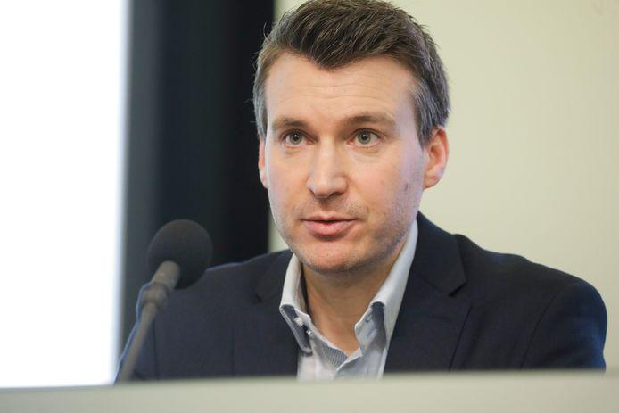 Benoît Ramacker, le porte-parole du Centre de crise.