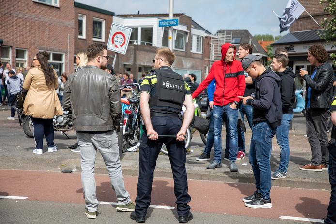 Na de wedstrijd liep het helemaal uit de hand bij Telstar-De Graafschap.