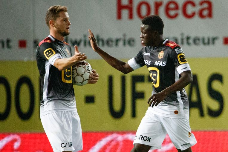 Bandé scoorde ook afgelopen weekend tegen Zulte Waregem