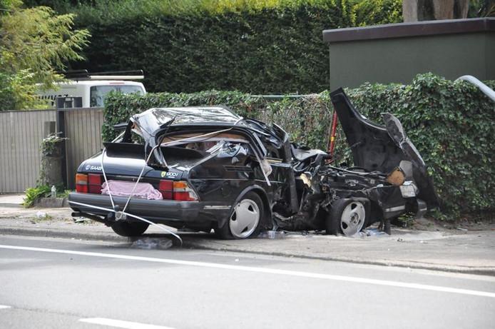 Accident mortel à Destelbergen.