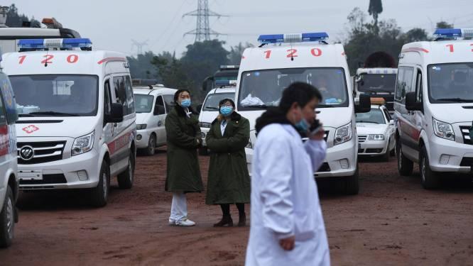 Minstens 18 doden door ongeluk in Chinese mijn