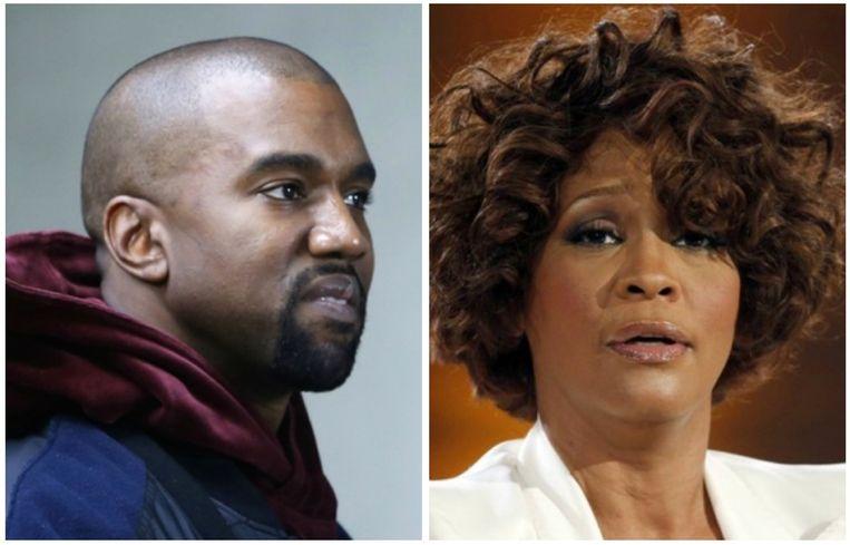 Kanye West koopt foto van Whitney Houstons met drugs gevulde badkamer.