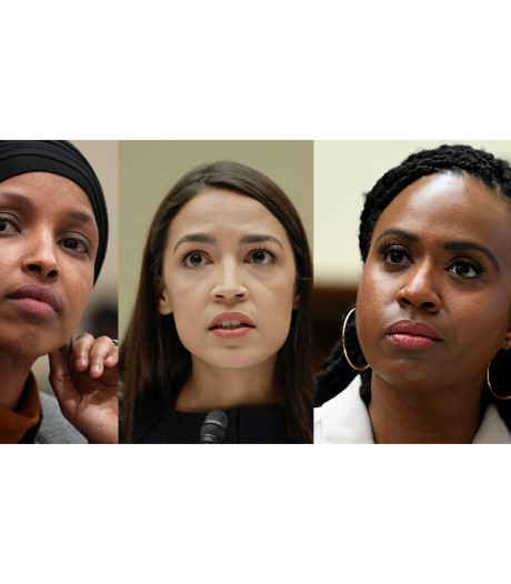 """Trump attaque quatre élues démocrates: """"Des gens qui haïssent notre pays"""""""