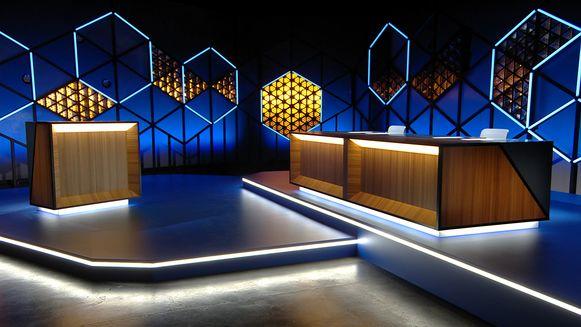 De nieuwe studio van 'Blokken' vormt, in tegenstelling tot de voorgaande jaren, geen echte stijlbreuk met de vorige.