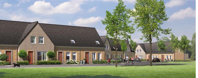 Woningcorporatie Stadlander bouwt het nieuwe woonwijkje Hof van Merksem