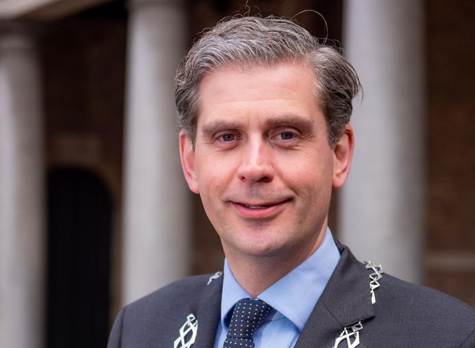 Burgemeester Wouter Kolff van de gemeente Dordrecht: ,,Dit soort afschuwelijke incidenten willen we in onze stad niet hebben.''