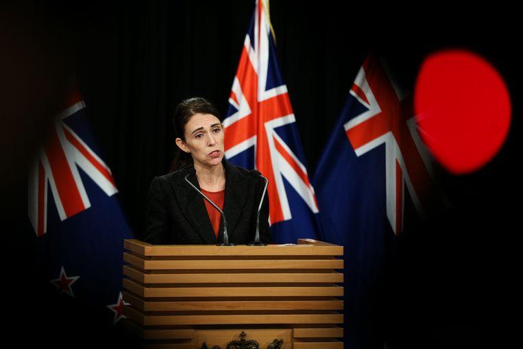 Premier Jacinda Ardern van Nieuw-Zeeland. Beeld Getty Images