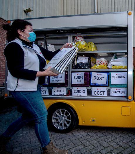 De Wijchense bezorgdienst is wakker gekust: producten van zeventig winkels aan huis