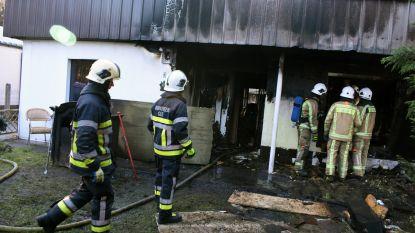 Pas verhuisd en nu dakloos na brand in chalet