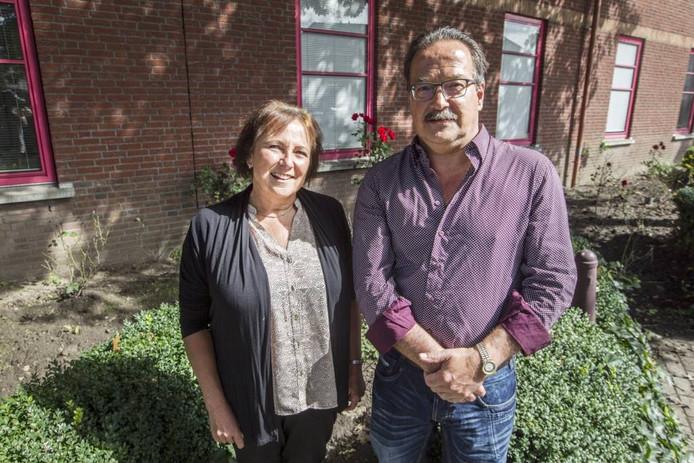 Lèneke van der Velde en Toine van Dongen