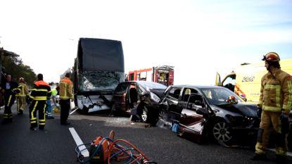 Busongeval met Belgische kinderen op Nederlandse snelweg na dagje Efteling: iedereen ongedeerd
