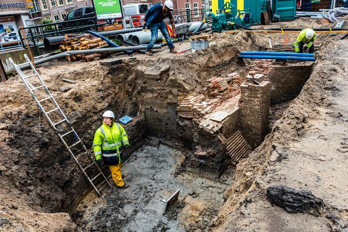 Archeologische vondsten in de Hoflaan