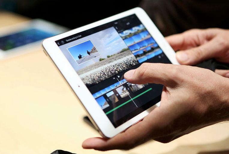 Een nieuwe iPad Beeld reuters