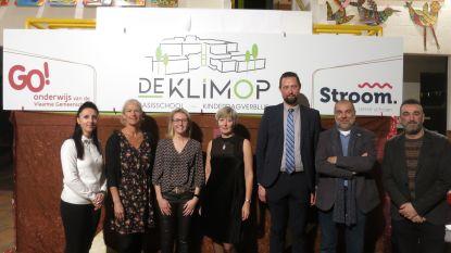 Basisschool De Klimop presenteert nieuw logo