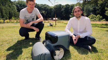 Stormloop voor robot die zelf gras maait