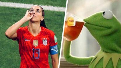 """""""Smakeloze"""" Alex Morgan zorgt voor Engelse rel, of waarom het vrouwenvoetbal nu echt op de kaart staat"""