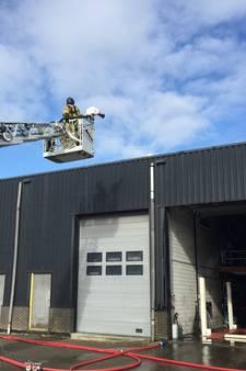 Brand in bedrijfsverzamelgebouw Heerjansdam onder controle