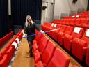 De indeling van de theaterzalen in De Leest is nog een hele puzzel.