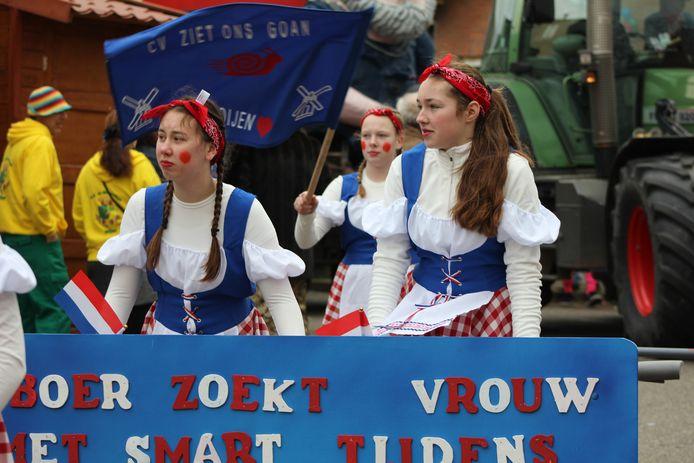 Boer zoekt vrouwn kent ook een variant tijdens het carnaval in Keiendonk (Megen).