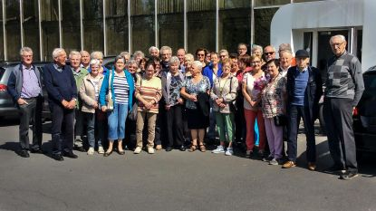 Senioren Okra bezoeken bedrijf luierproducent Ontex