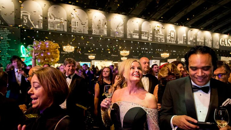 Bezoekers van Masters of LXRY, de beurs in de RAI die draait om luxe Beeld anp