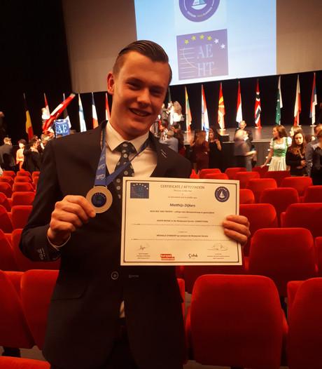 Zilver voor student ROC van Twente tijdens Europese beroepenwedstrijd